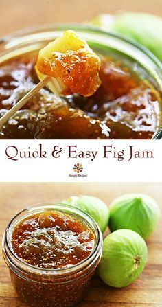 Spicy Orange Fig Jam, made quick and easy in the microwave! Cooks in only 15 minutes. On SimplyRecipes.com