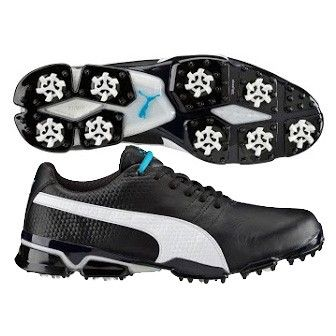 73ebd2744fac Puma TitanTour Ignite Golf Shoes Black-White AW16