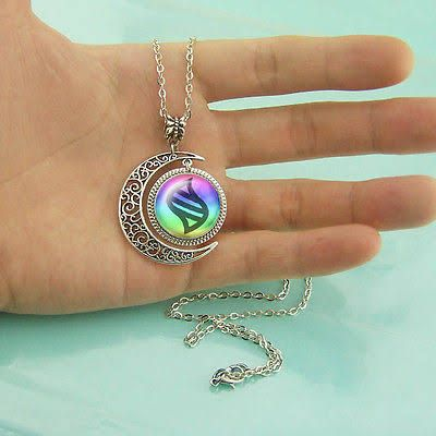Mega Evolution Necklace Mega Evolution Stone Jewelry Moon Pendant