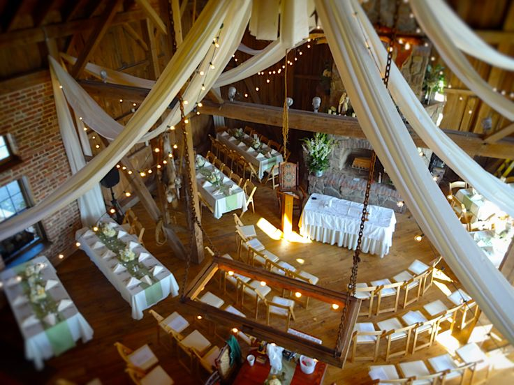 Rustic Barn Wedding - Fall Wedding   Baumann's Florist