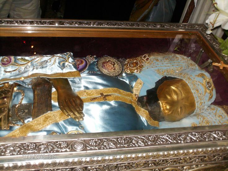 The Relics Of St John The Russian (Evia Island, Greece)