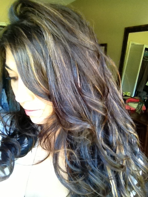 Hair Extensions Multi Colored Highlights
