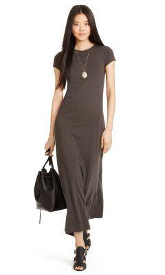 Robe maxi en jersey de coton - Polo Ralph Lauren Robes maxi - Ralph Lauren France