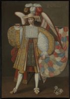 Archangel Gabriel ca. 1730 / Unknown Artist / Art from the Andes: Spanish Colonial Paintings from the Elvin A. Duerst Bequest