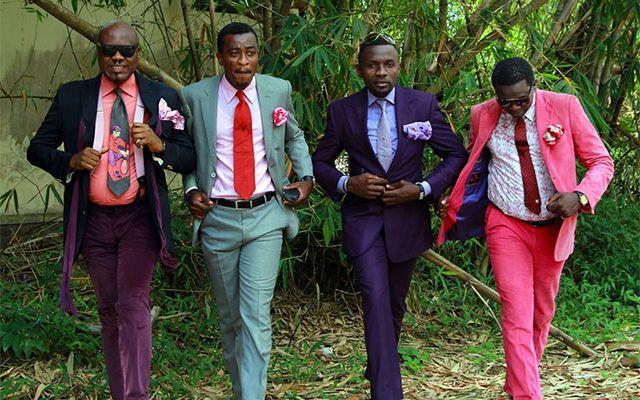 コンゴのファッショニスタ集団「サプール」