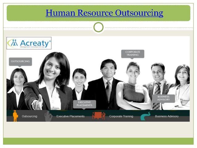 Human Resource Outsourcing by acreaty via slideshare