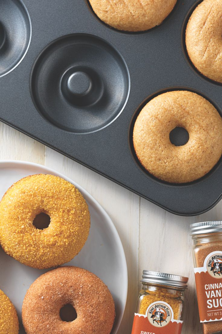 America's classic confection just got a whole lot better. Enjoy baked (rather than fried) doughnuts with the help of this handy pan. Save on calories, not on taste.