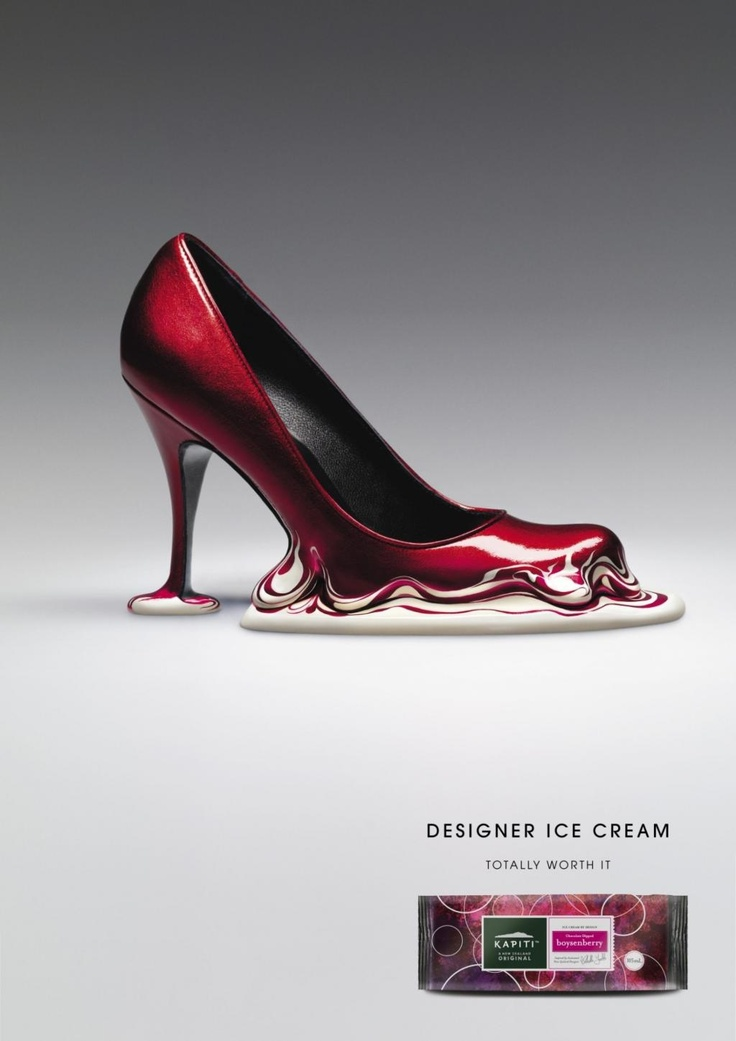 kaptiti: designer ice cream shoe.