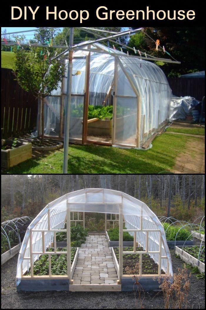 Diy Hoop Greenhouse Hoop House Diy Greenhouse Plans