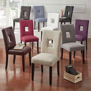 Shop for inspire q mendoza keyhole back dining chairs set for Furniture outlet online free shipping