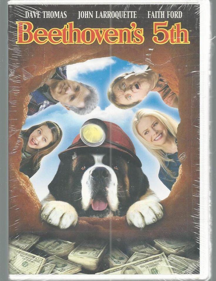 John Larroquette Faith Ford Beethoven's 5th DVD Dave Thomas Tom Poston 2009 NEW