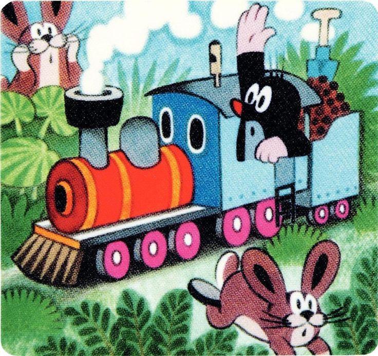 (2014-07) Muldvarpen kører lokomotiv