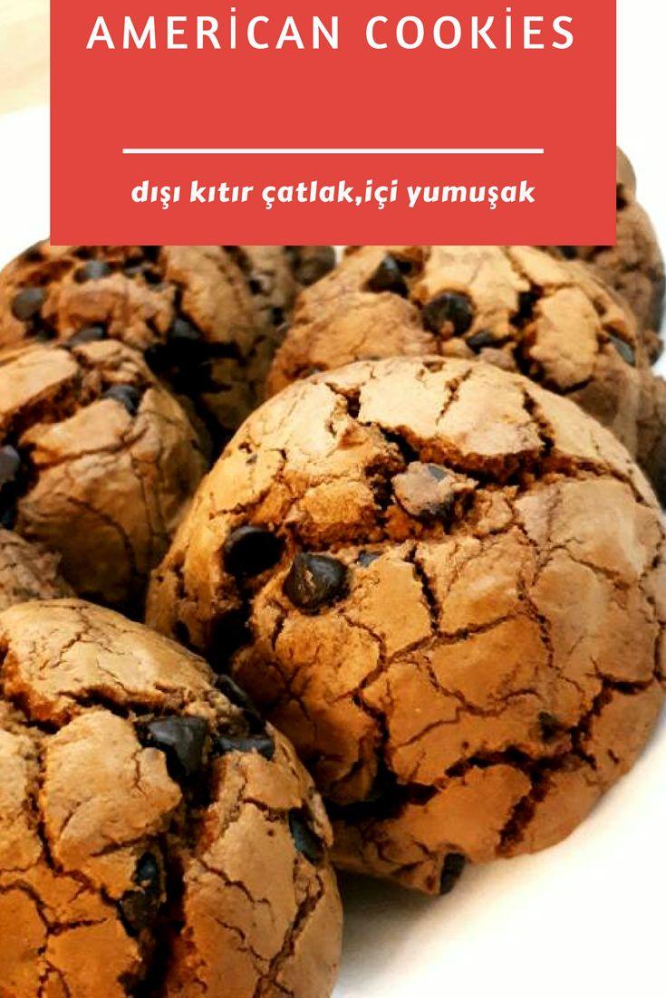 American Cookies #americancookies #kurabiyetarifleri #nefisyemektarifleri #yemektarifleri #tarifsunum #lezzetlitarifler #lezzet #sunum #sunumönemlidir #tarif #yemek #food #yummy