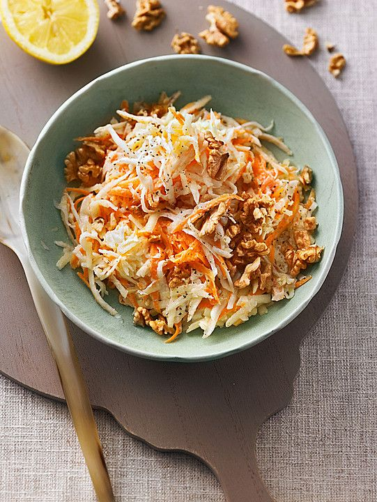Karotten - Sellerie - Apfel - Salat (Rezept mit Bild) | Chefkoch.de