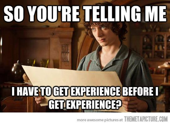 Applying for jobs these days...