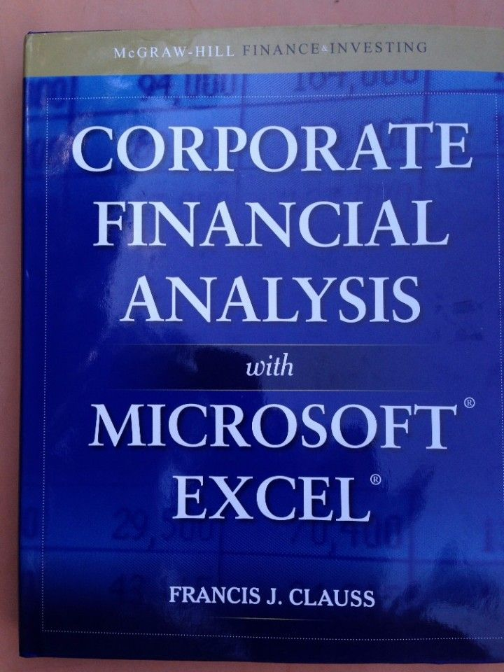 How do I perform a financial analysis using Excel?