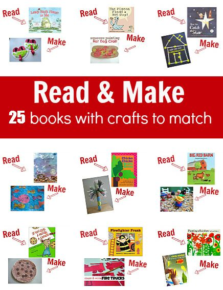 LOVE THIS!  25 Books with Crafts To Match  -  - Pinned by @PediaStaff – Please Visit  ht.ly/63sNt for all our pediatric therapy pins