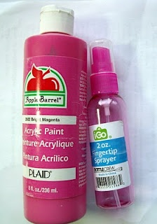 two parts acrylic paint to one part water = homemade spay paint! I'm guessing it doesn't keep very well so just make what you need for one project at a time.: Acrylic Paint, Parts Paint, Diy Crafts, Parts Acrylic, Craft Ideas