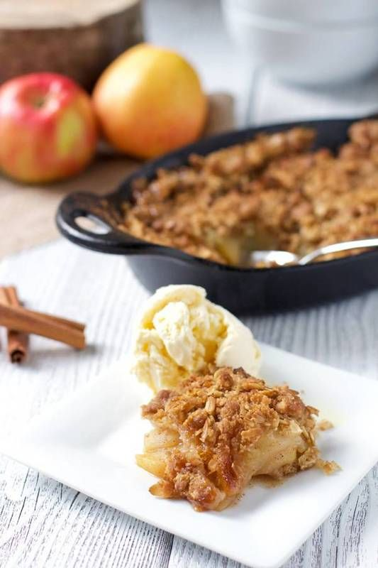 Desserts are fair game for the grill! Impress guests with an apple crisp cooked on the grill - and enjoyed a la mode.