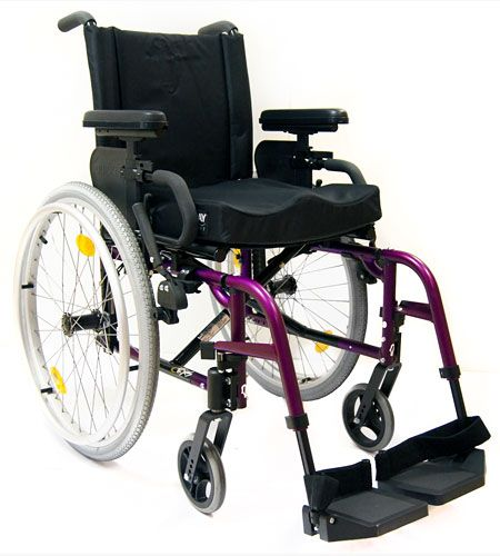 QUICKIE RXS, the best value for money custom lightweight folding wheelchair available. Arrange a free demonstration today.