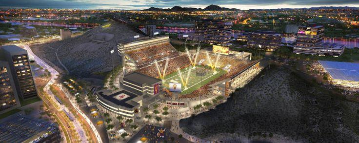 Arizona State Releases Revised Look at Sun Devil Stadium Reinvention - Arizona State Sun Devils
