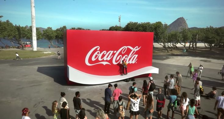 Coca-Cola Creates a Logo You Can Skate on - http://www.creativeguerrillamarketing.com/ambient-advertising-2/coca-cola-creates-logo-can-skate/