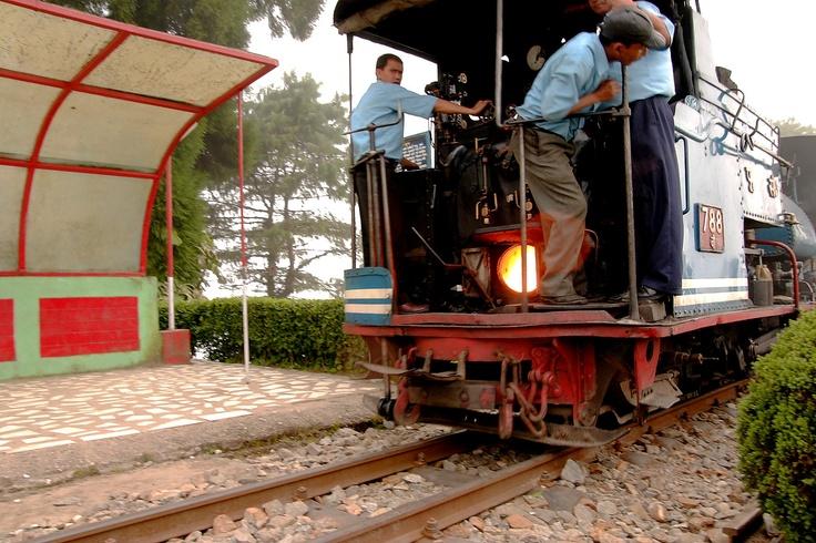 Steam locomotive of Darjeeling Himalayan Railway