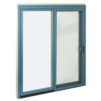 Bright sliding door color not this color but maybe orange for Exterior back doors with glass