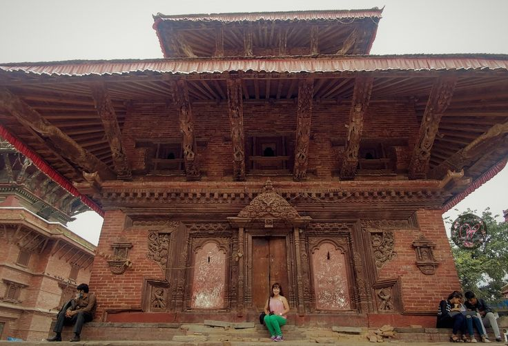 The Living Goddess at the Durbar Square