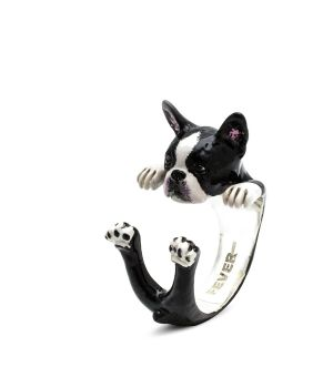 DOG FEVER JEWELRY | Enameled Hug Rings Full Collection by Dog Fever
