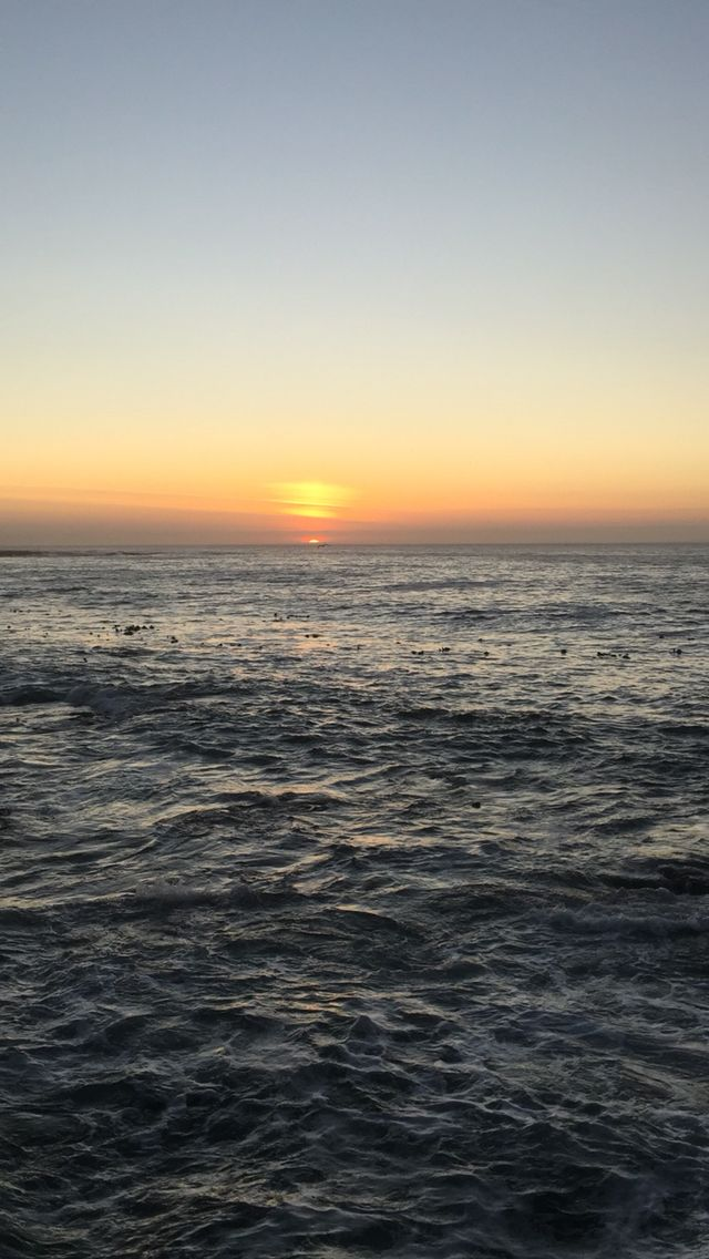 One of the best sunset spot ever in Cape Town, South Africa. True South African Nature!!!
