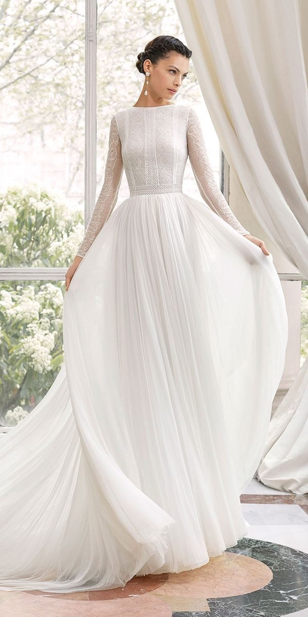 24 Modest Wedding Dresses Of Your Dream Dream Wedding Dresses