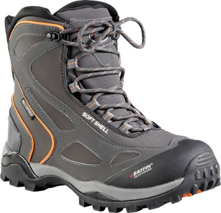 Baffin Men's Snotrek Boots Charcoal/Orange 12