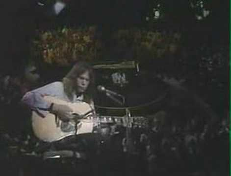 My #1 favourite Neil Young song - Needle and the Damage Done...albeit a depressing message tis beautiful in its delivery.