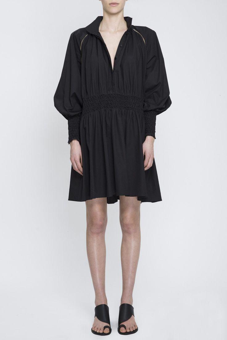 Acler - Windsor Dress Black