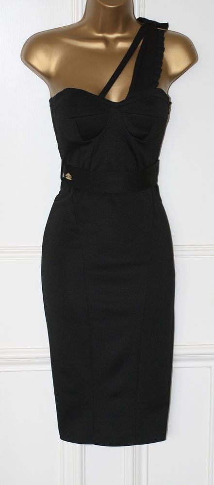 After 6 black dress 50s