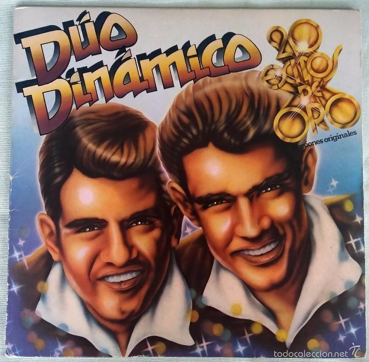 DUO DINÁMICO - LP VINILO. 20 ÉXITOS DE ORO. EMI 1980 (Música - Discos - LP Vinilo - Pop - Rock - New Wave Extranjero de los 80)