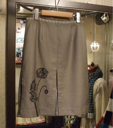 定番のポピー刺繍✽の画像:JAPANESQUE-SHOKO