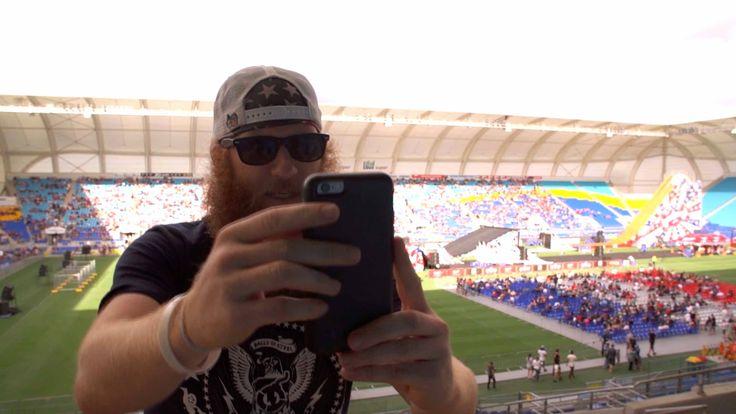 awesome Red Beard's Big Head