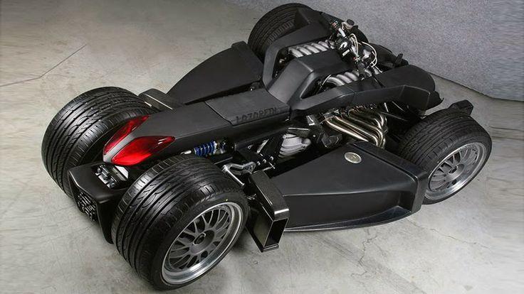 Latest Cars| Bikes In the World: The World's Most Expensive Quad - Lazareth Wazuma V8F