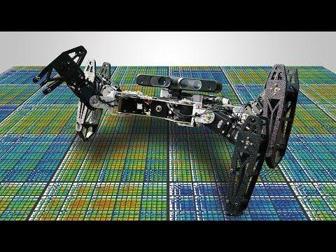 Privés de leurs membres, ces robots continuent à se déplacer