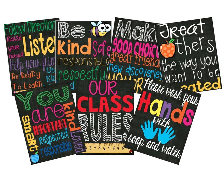 Our Class Rules.