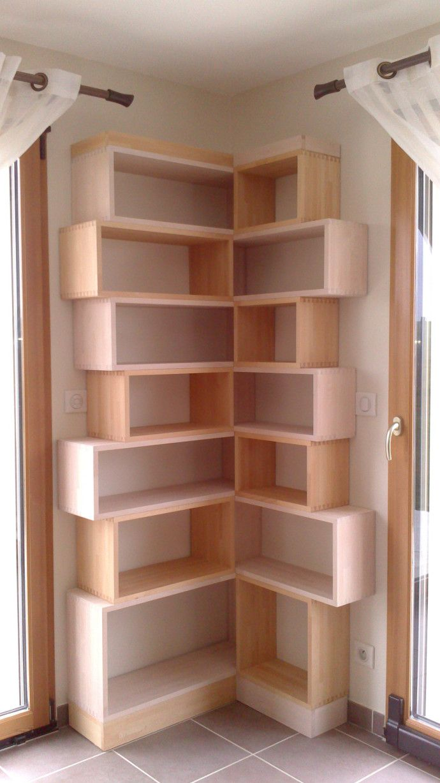 les 25 meilleures id es de la cat gorie etagere angle sur pinterest bibliotheque d angle. Black Bedroom Furniture Sets. Home Design Ideas