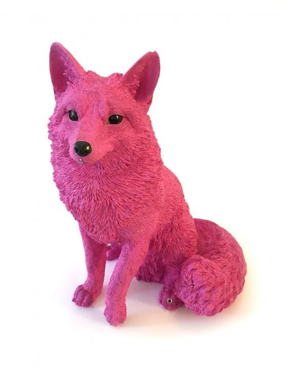 Exclusive item from the Celebrity Big Brother House! Keep your house safe and secure with a sitting bright pink fox as seen in the CBB garden. This item was especially crafted for the House, meaning you cannot get it anywhere else.