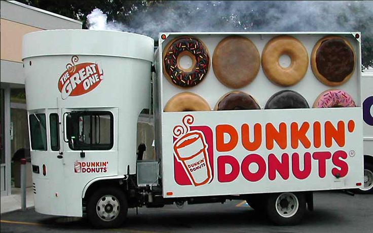 Dunkin Donuts Mobile Food Truck