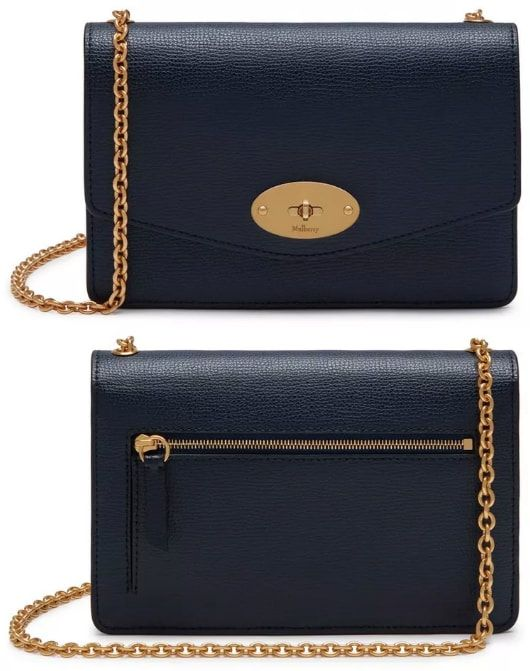 31e066b1617 Mulberry Small Darley Satchel in Bright Navy Cross Grain Leather ($675)  Cross Grain Leather as seen on Meghan Markle