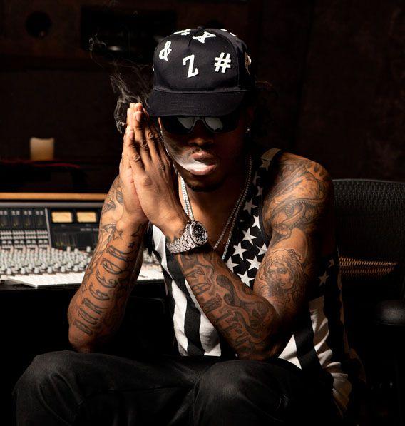 Future the Rapper | Photography Portrait of Atlanta rapper Future for Inked Magazine