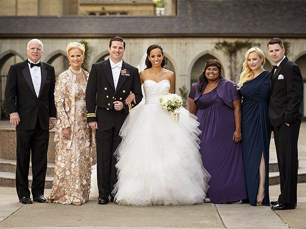 Senator John McCains Son Jack Marries Sweetheart Renee Swift