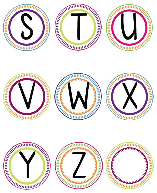 Best 25 printable letters ideas on pinterest printable for Free printable word wall templates