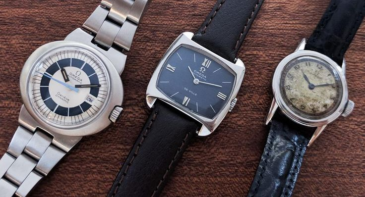 Women! We find precious watches for your taste. 3 kind of Omega vintage watches!